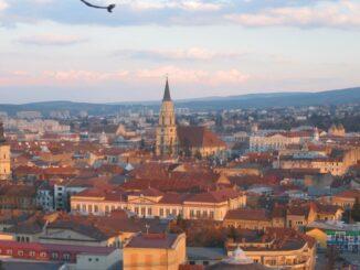 Cluj-Napoca, in Transilvania