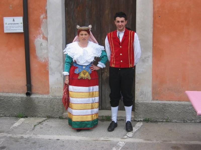 Costumi albanesia San Costantino Albanese in Basilicata
