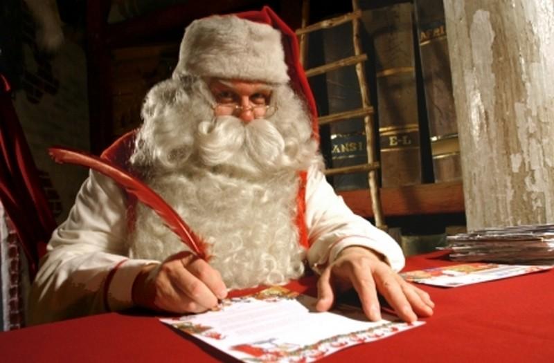 Letterina di Babbo Natale da Rovaniemi, Finlandia - Villaggio di Babbo Natale