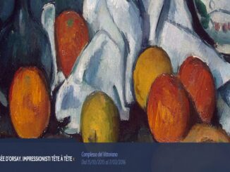 "Mostra ""Dal Musée d'Orsay Impressionisti. Tête à tête""."
