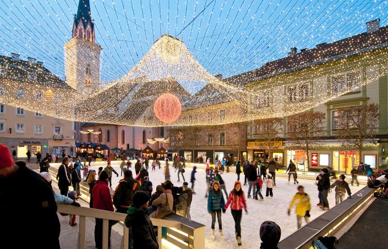 Villach nel periodo natalizio - ph villacheradvent.at/italiano/