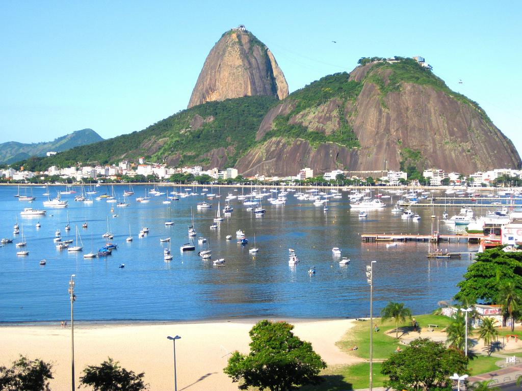 Brasile, Rio de Janeiro con Pan di Zucchero