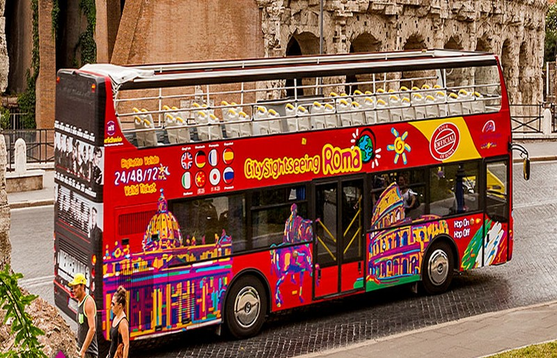 City Sightseeing Roma - ph via sito ufficiale