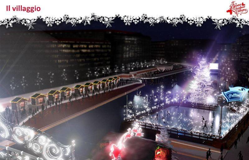 Il Villaggio di Natale in Darsena - ph naviglilombardi.it