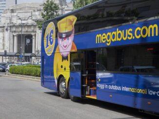 Megabus.com, un pullman della flotta