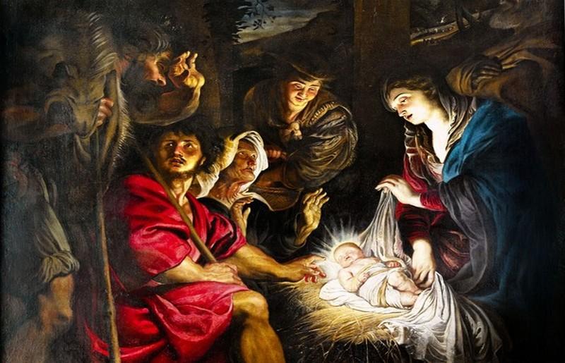 Adorazione dei Pastori, Rubens - particolare