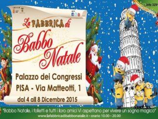 La Fabbrica di Babbo Natale a Pisa, locandina