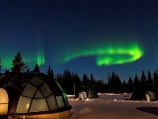 Igloo e aurora boreale - ph Evolution Travel