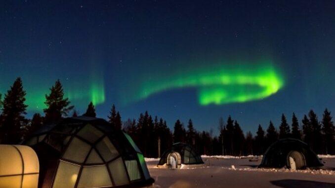 Igloo e aurora boreale - ph Evolution Travel
