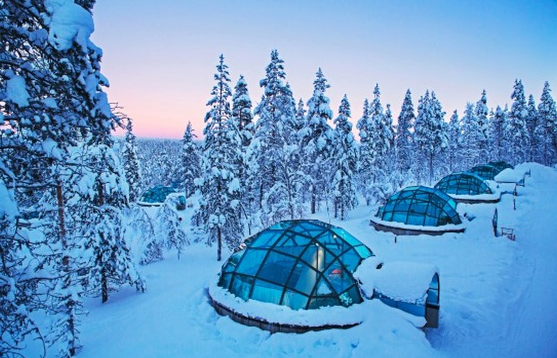 Igloo in Lapponia Finlandese - ph Evolution Travel