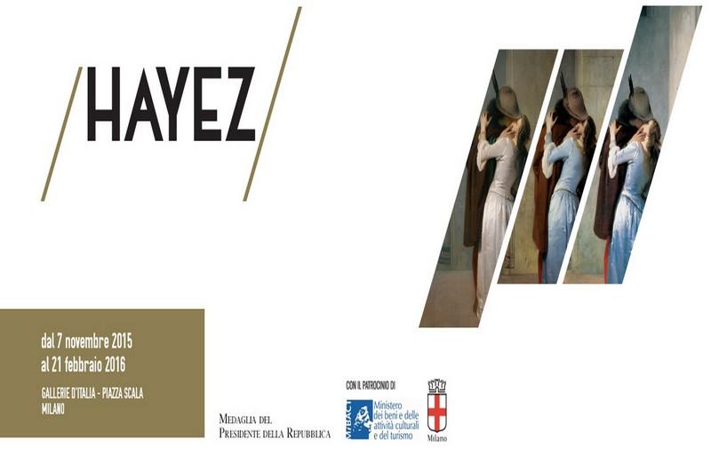Mostra su Hayez a Milano, locandina