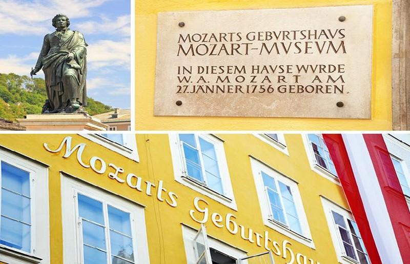 Salisburgo, collage di foto by Viaggi di BoscoloSalisburgo, collage di foto by Viaggi di Boscolo