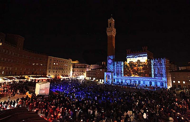 Siena, Piazza del Campo a Capodanno