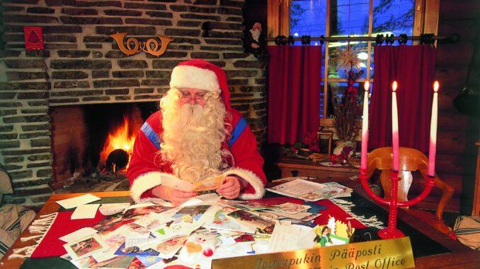 Babbo Natale a Rovaniemi, il suo villaggio