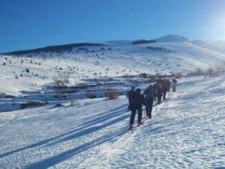Trekking con ciaspole nel Parco Nazionale della Majella
