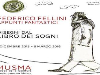 Mostra su Federico Fellini a Matera