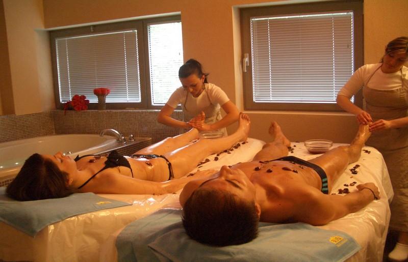 Massaggio di coppia alle Terme della Salvarola
