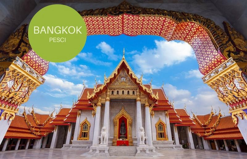Bangkok, meta per i Pesci - ph SkyScanner.it