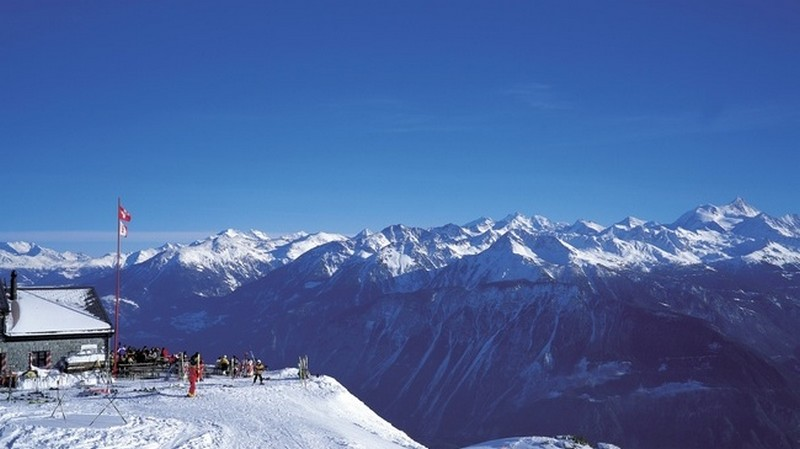Crans - Montana - Copyright by Switzerland Tourism Byline: ST/swiss-image.ch