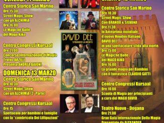 19° Festival Internazionale della Magia, San Marino