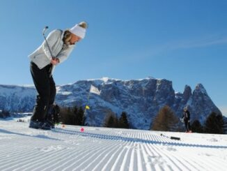 Golf sulla neve - ph Alpe di Siusi Marketing