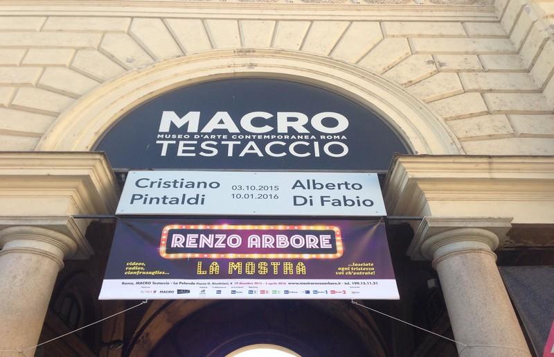 Mostra su Renzo Arbore al MACRO - ph pagina ufficiale Facebook