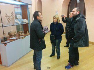 Museo Archeologico Adamesteanu di Potenza, visita dei giornalisti
