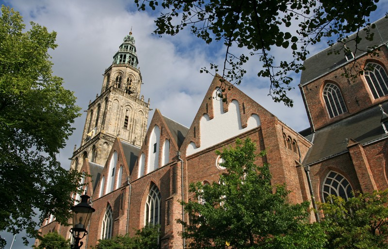 Martinikerk e Martinitoren - ph Bert from Netherlands - licenza Creative Commons-licentie Naamsvermelding 2.0 Unported
