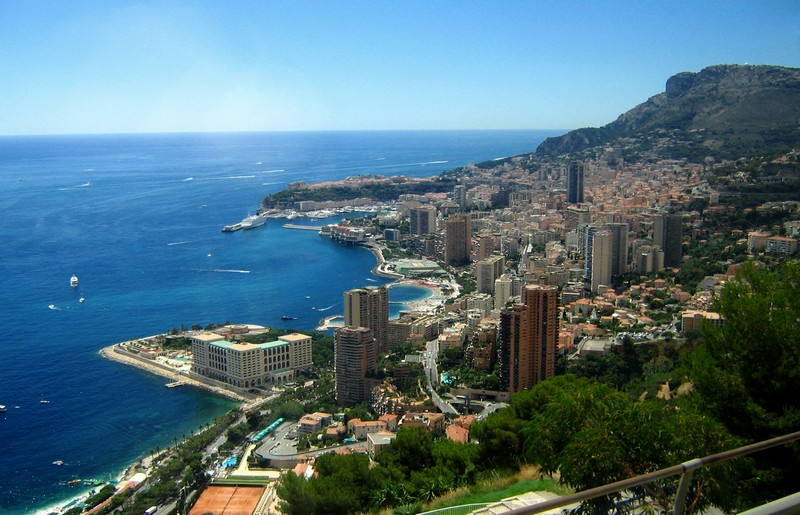Principato di Monaco, panorama - ph I, Katonams - licenza Creative Commons Attribution-Share Alike 3.0 Unported