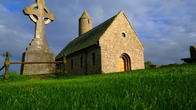 Saul Church, contea di Down, Irlanda