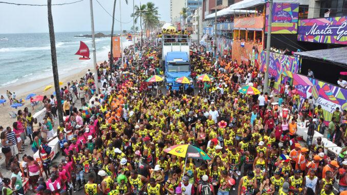Carnevale a Salvador, Brasile