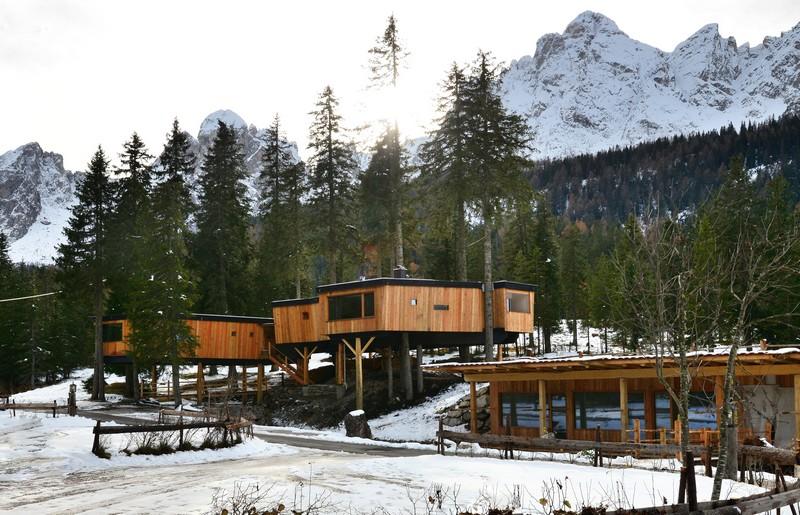 Casa sull\'albero in Trentino Alto Adige, a Sesto in Val Pusteria ...