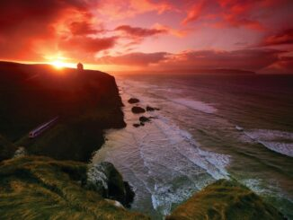 Irlanda: Mussenden Temple, Contea di Derry-Londonderry