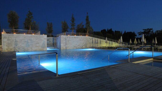 Una delle piscine delle Terme Antica Querciolaia