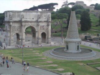 Meta Sudans, Roma