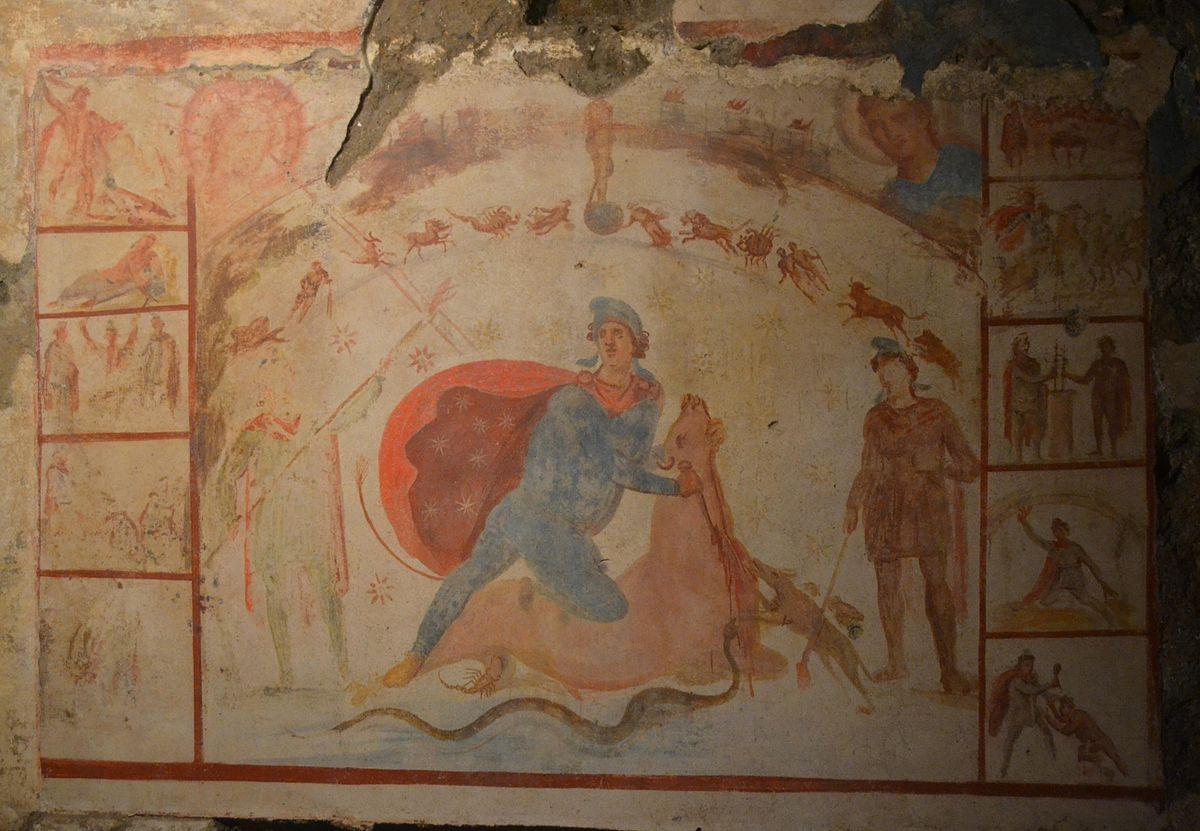 Mitreo Barberini, Roma