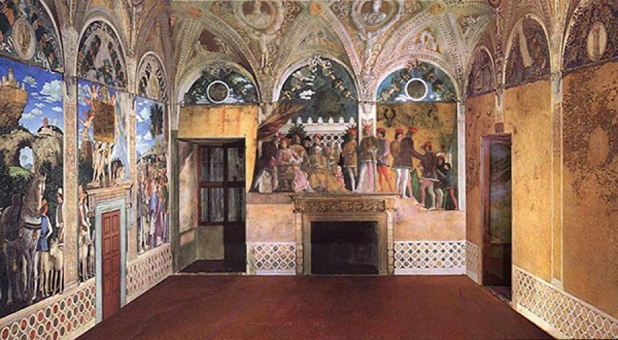 Palazzo Ducale Mantova, Camera degli Sposi - Foto Artemagazine