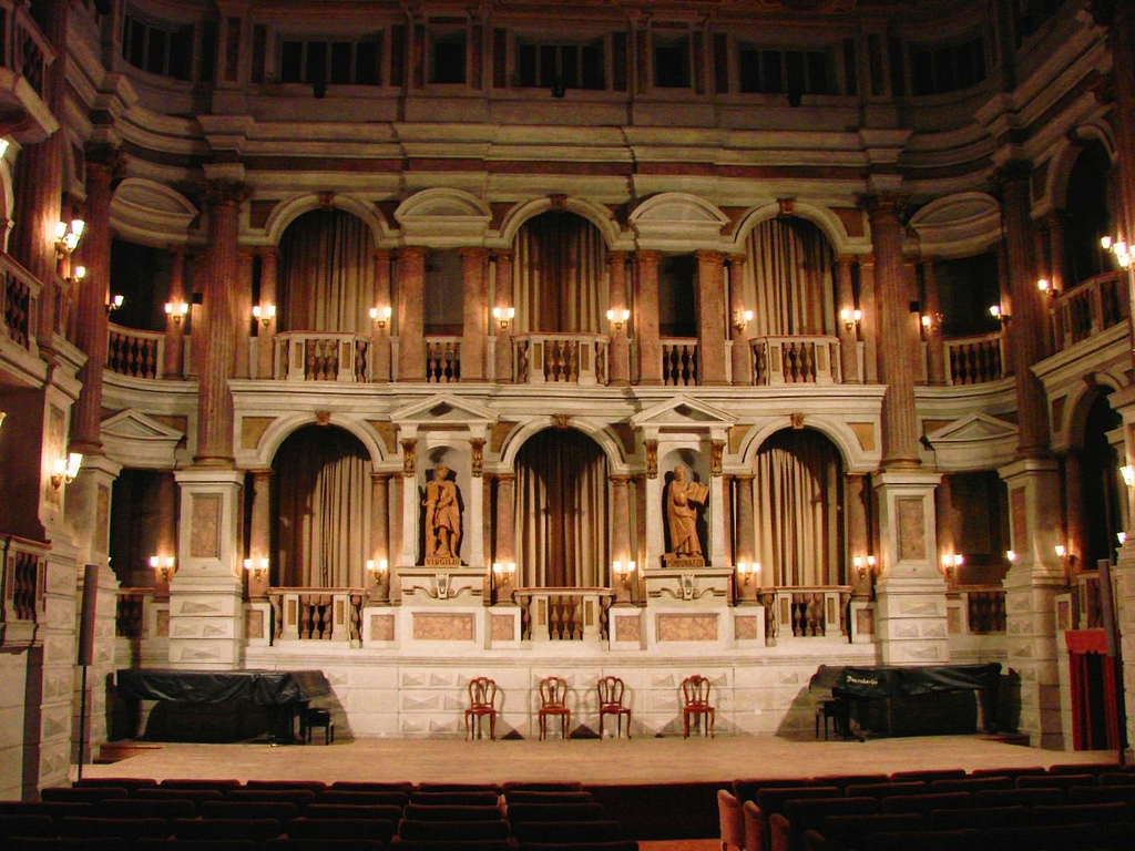 Teatro scientifico del Bibiena, Mantova
