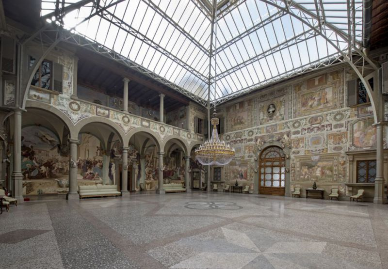 Villa Medicea della Petraia, Firenze