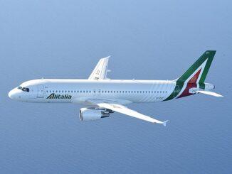 Volo Alitalia con Airbus A320