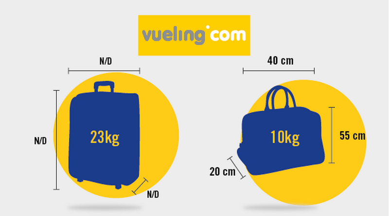 Bagaglio a mano Vueling