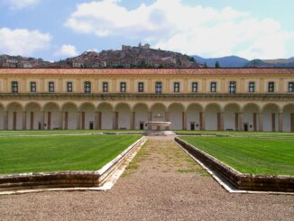 Certosa di San Lorenzo conosciuta come Certosa di Padula