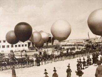 Festival del Volo a Monza, foto del 1906