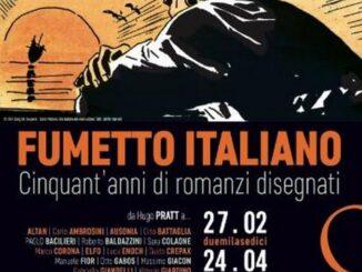 Locandina Fumetto Italiano, Roma