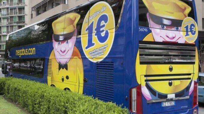 Megabus, un autobus della flotta
