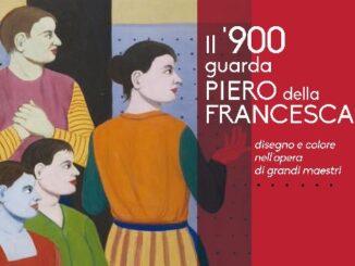 Locandina Mostra Il '900 guarda Piero della Francesca'