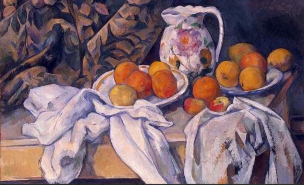 Natura morta, Paul Cezanne