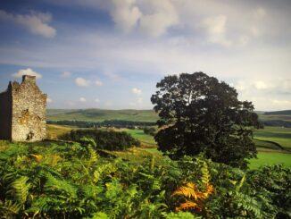 Resti di una casa torre del 16simo secolo, Scozia