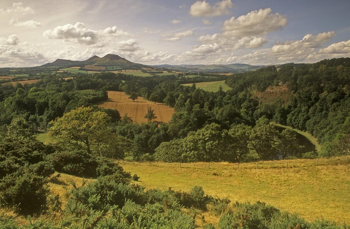 Stupendo paesaggio scozzese