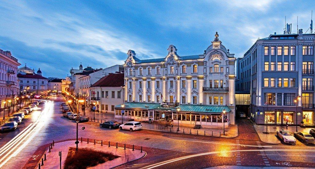 Vilnius, hotel Radisson Blu Astoria